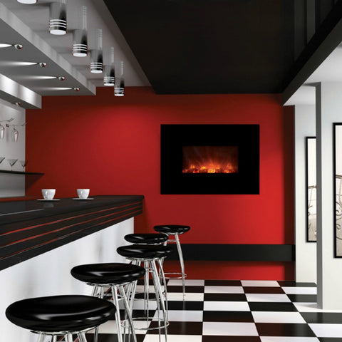 "Modern Flames 40"" Ambiance Electric Fireplace (AL40CLX-G) - The Modern Fireplace"