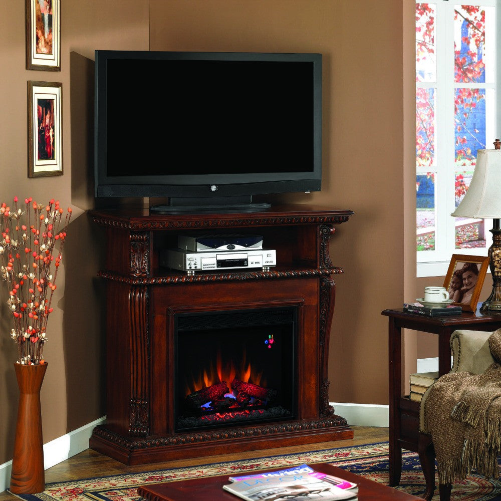 Classic Flame Corinth Electric Fireplace Mantel (23DE1447-C233) - The Modern Fireplace