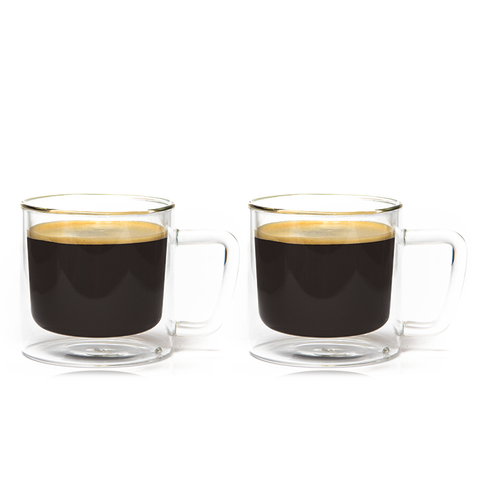 Eparé 12 oz. Retro Coffee Mug (Set of 2)