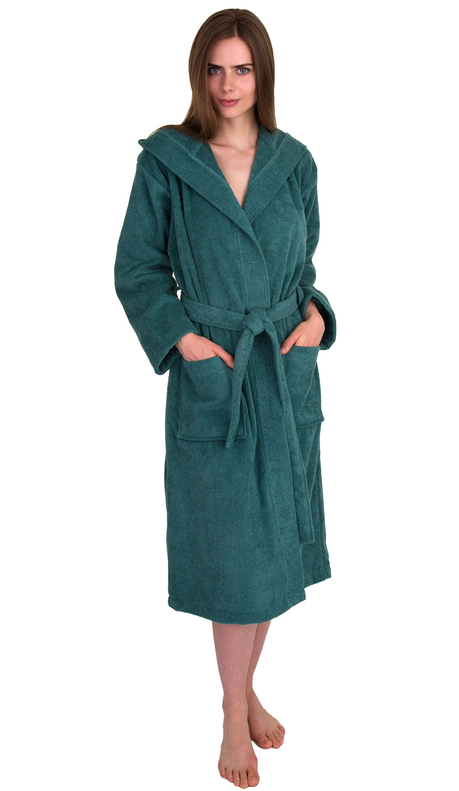 8efa6a61ad Women s Terry Bathrobes - TowelSelections