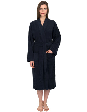 TowelSelections Women's Robe, Low Twist Cotton Terry Bathrobe