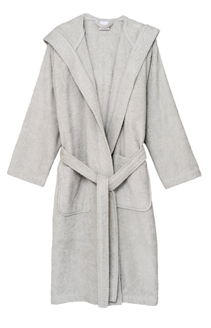 TowelSelections Women's Hooded Robe, Cotton Terry Cloth Bathrobe