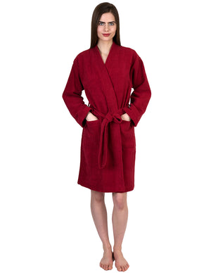 TowelSelections Women's Robe, Turkish Cotton Short Terry Bathrobe