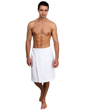 TowelSelections Men's Wrap, Shower & Bath, Terry Velour Towel