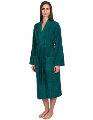 TowelSelections Women's Robe Turkish Cotton Terry Kimono Bathrobe
