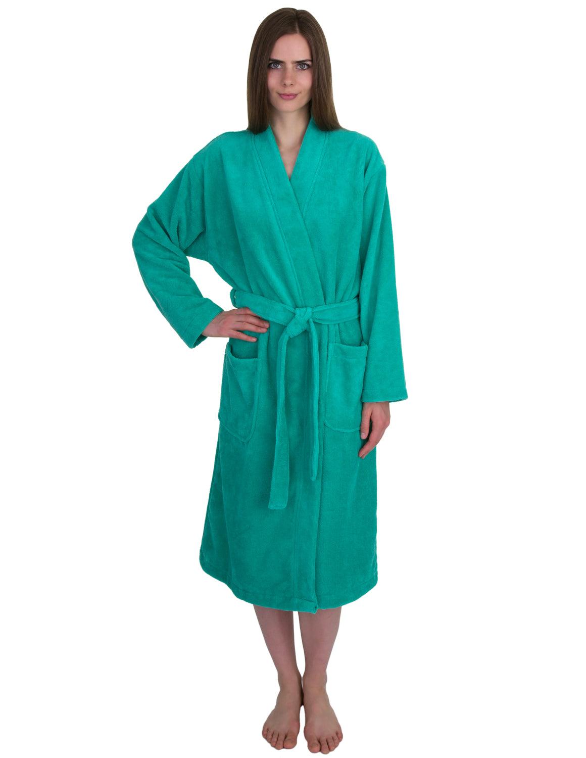 Towelselections Women S Robe Fleece Cotton Terry Lined