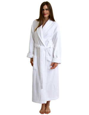 TowelSelections Women's Robe, Turkish Cotton Terry Shawl Bathrobe