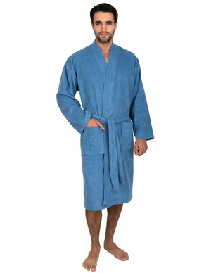 TowelSelections Men's Robe, Turkish Cotton Terry Kimono Bathrobe