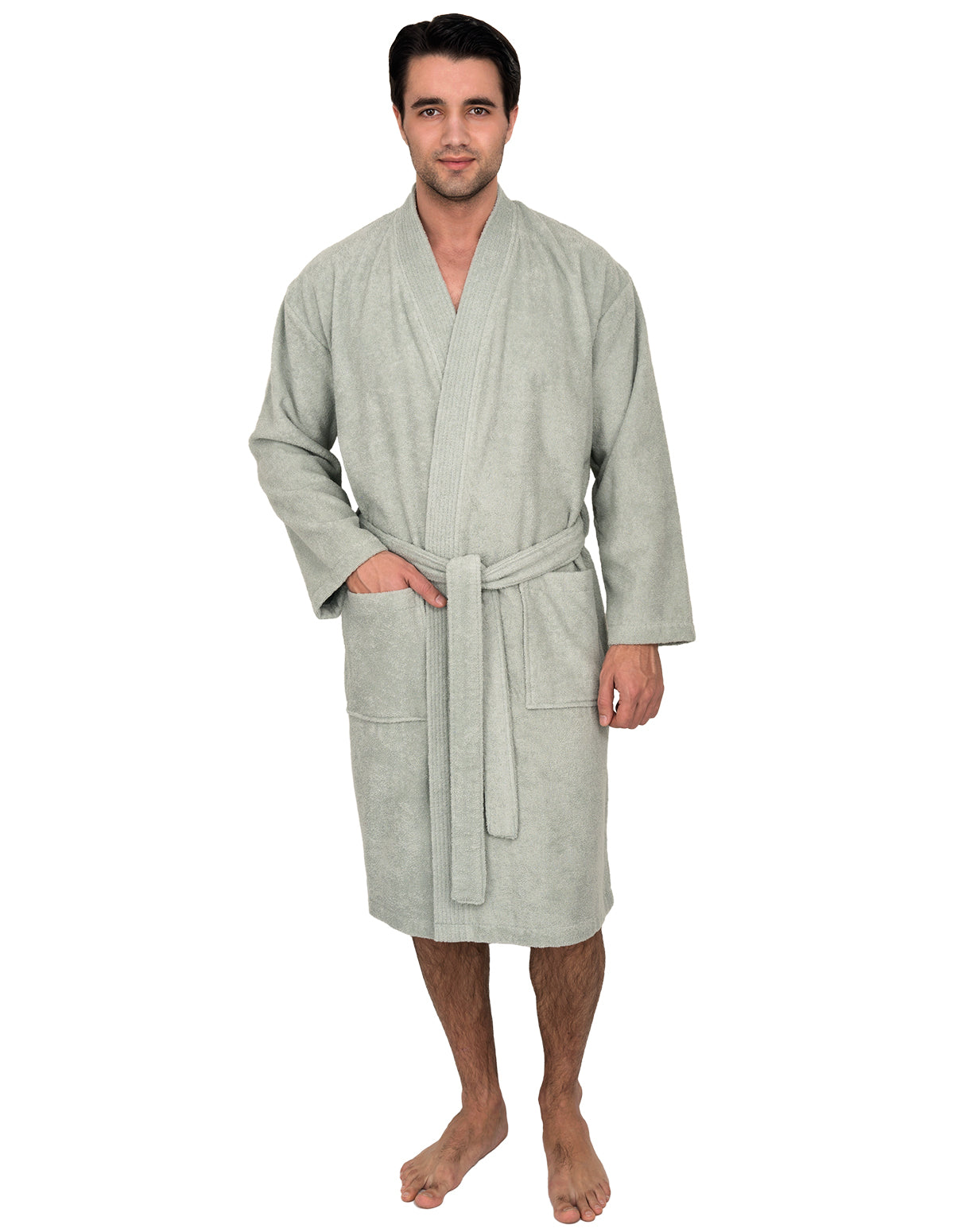Towelselections Men S Robe Turkish Cotton Terry Kimono Bathrobe Made In Turkey Robes Men