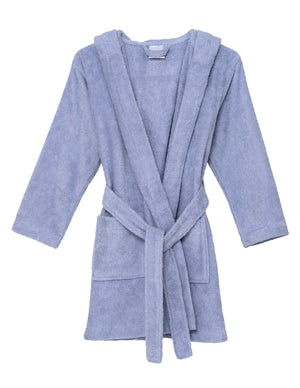 TowelSelections Boys Beach Cover-up, Kids Hooded Cotton Terry Pool Cover-up