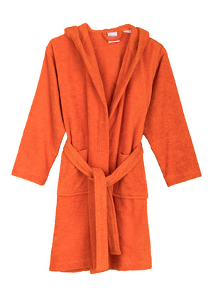 TowelSelections Girls Beach Cover-up, Kids Hooded Cotton Terry Pool Cover-up