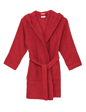 TowelSelections Boys Robe, Kids Hooded Cotton Terry Bathrobe