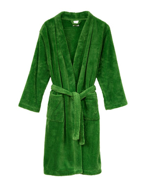 TowelSelections Boys Robe, Kids Plush Kimono Fleece Bathrobe