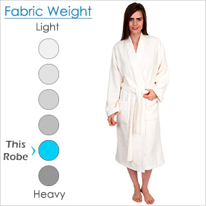 TowelSelections Women's Robe Organic Cotton Terry Kimono Bathrobe