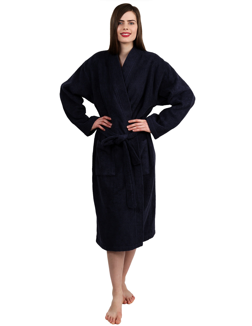 TowelSelections Women's Bathrobe Turkish Cotton Terry Kimono Robe