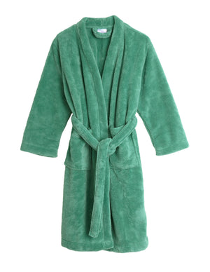 TowelSelections Girls Robe, Kids Plush Kimono Fleece Bathrobe