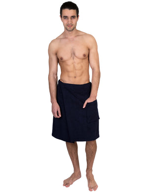 TowelSelections Men's Wrap, Shower & Bath, Terry Spa Towel