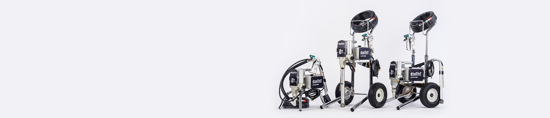 Full range of TriTech airless sprayers