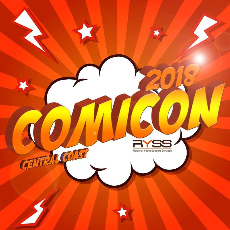 BLOG: Central Coast Comic Con 2018