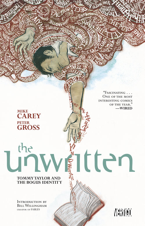 Unwritten, Volume 1: Tommy Taylor and the Bogus Identity