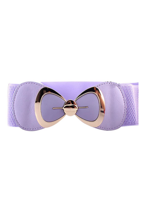 Waist Belt | Pinup Bow | Purple