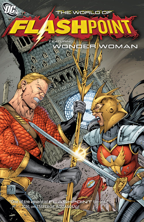 World of Flashpoint, Volume 3: Wonder Woman and the Furies & other stories