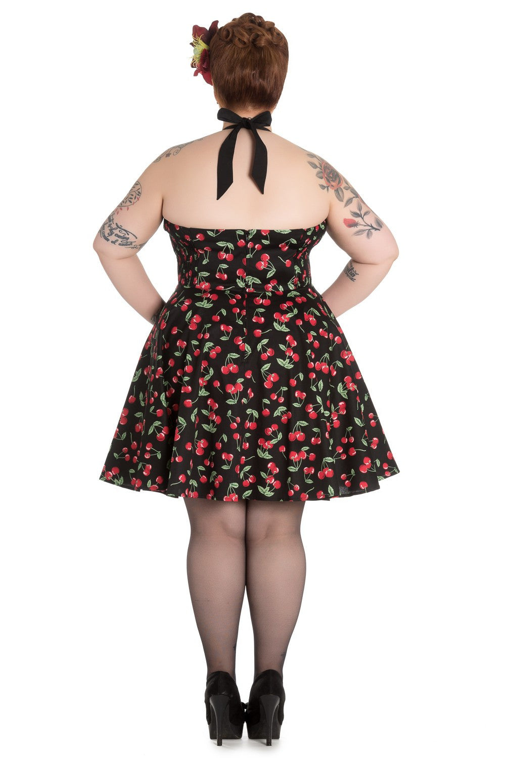 Cherry Pop Mini Dress (2XL-4XL)