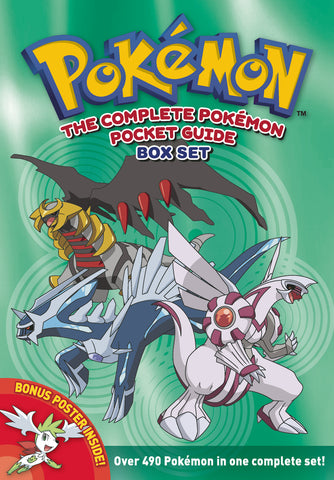 The Complete Pokémon Pocket Guide: Box Set