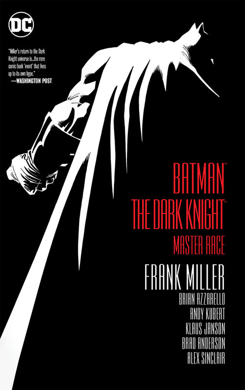 Batman: The Dark Knight, Master Race (Hardcover Edition)