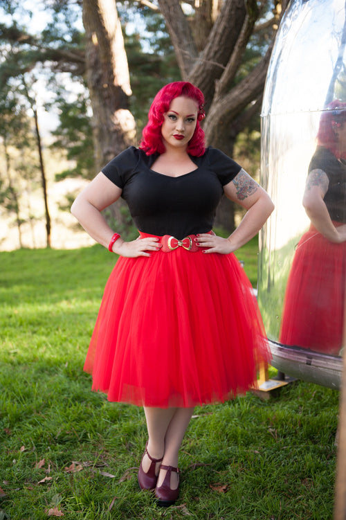 Waist Belt | Pinup Bow | Red