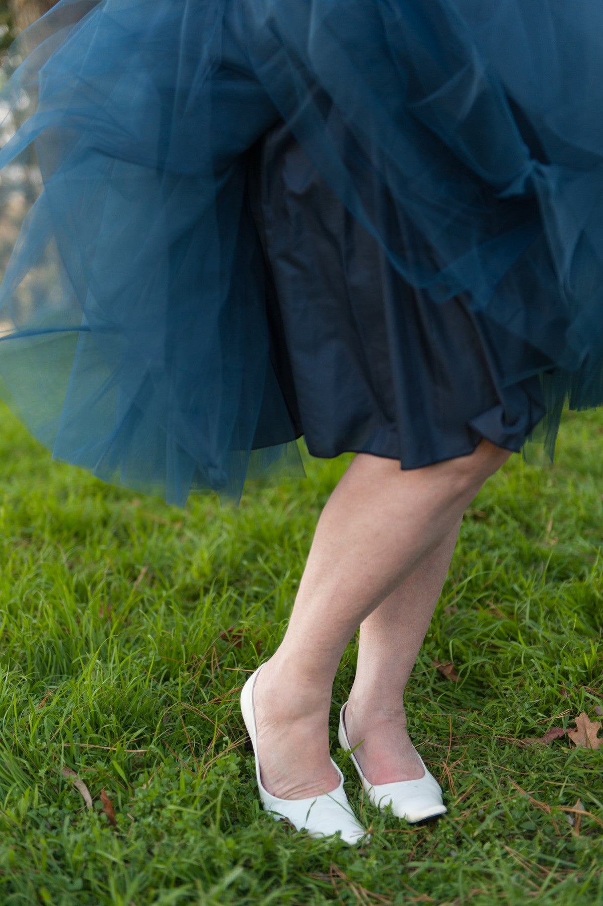 Nostalgia Now - Navy Tutu Skirt Lining