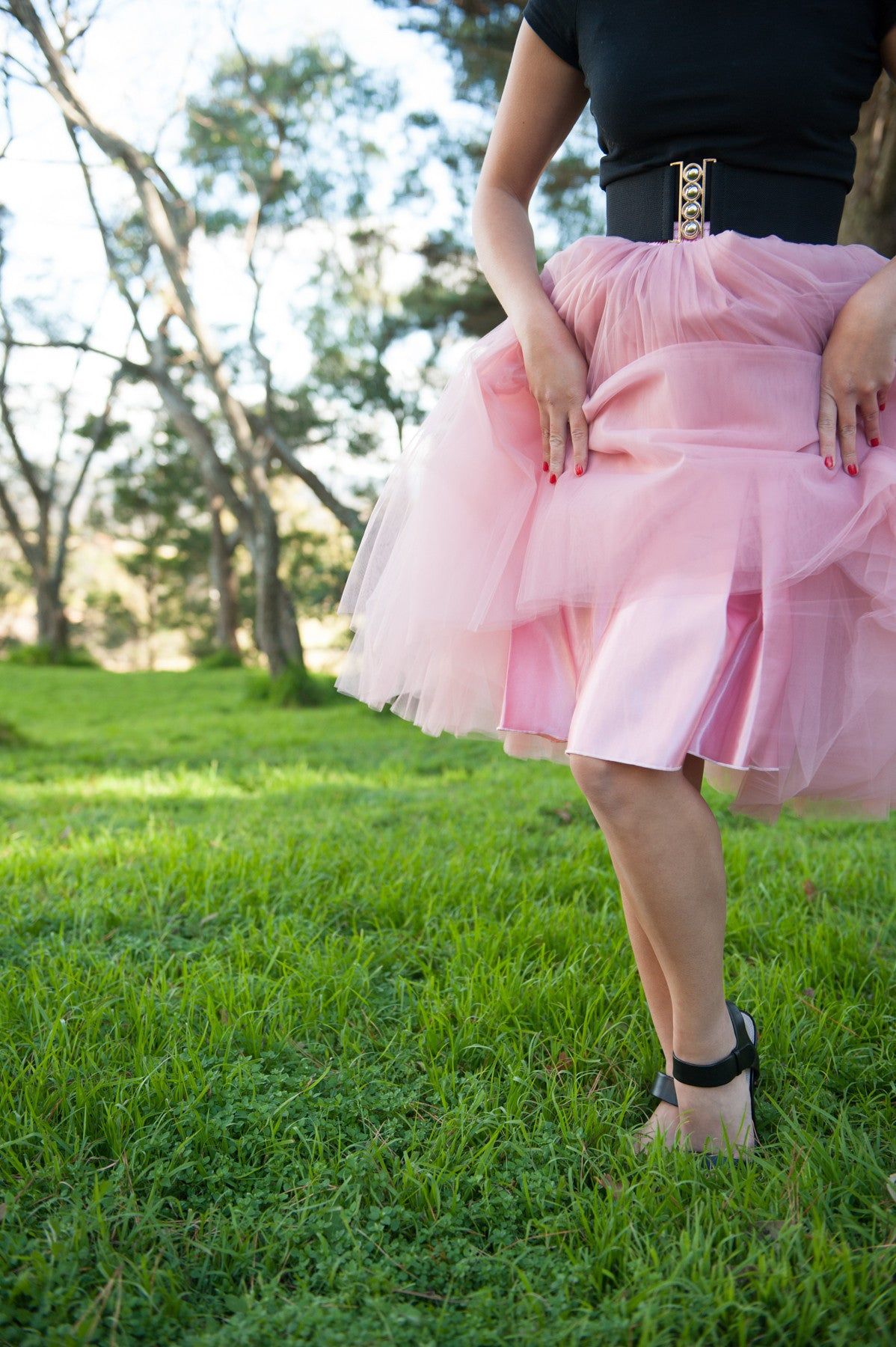 Nostalgia Now - Dusty Rose Tutu Lining