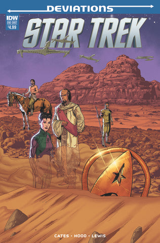 Star Trek Green Lantern: Stranger Worlds