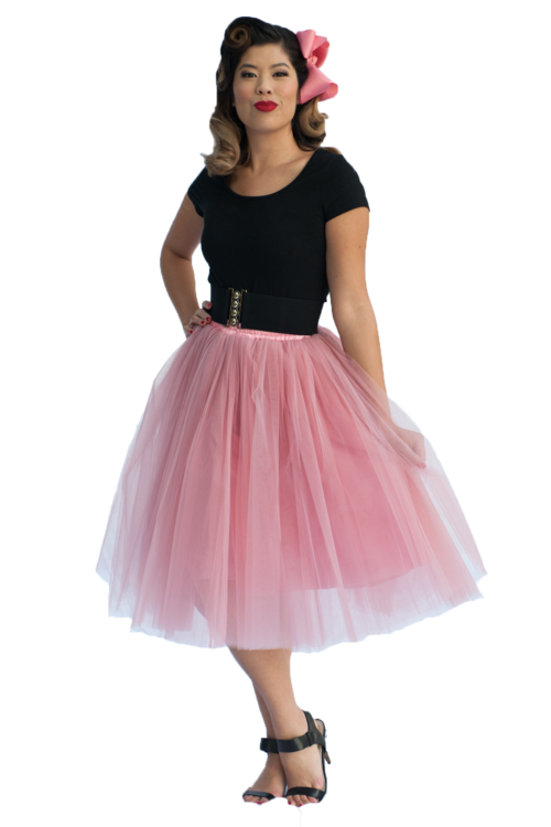 Adult Tutu Skirt - Dusty Rose