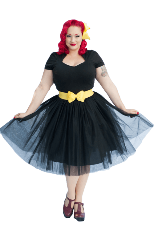 Adult Tutu Skirt | Jet Black |  8 - 14