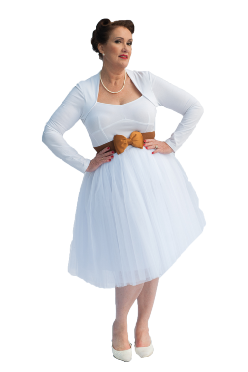 Adult Tutu Skirt | White | 16 - 20