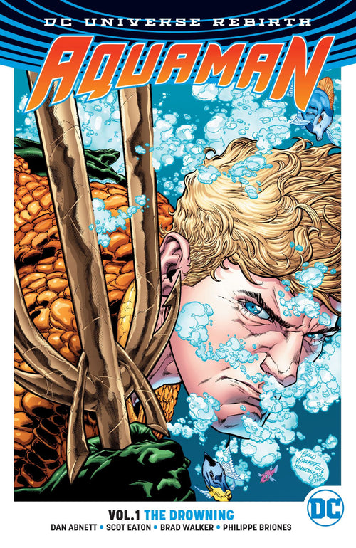 Aquaman | Rebirth | 1 | The Drowning | Paperback