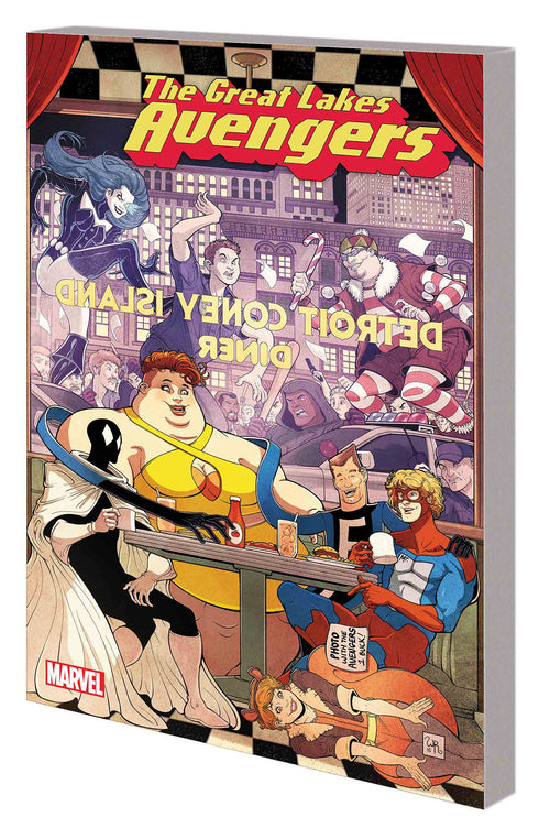 Great Lakes Avengers, Volume 1: Same Old Same Old