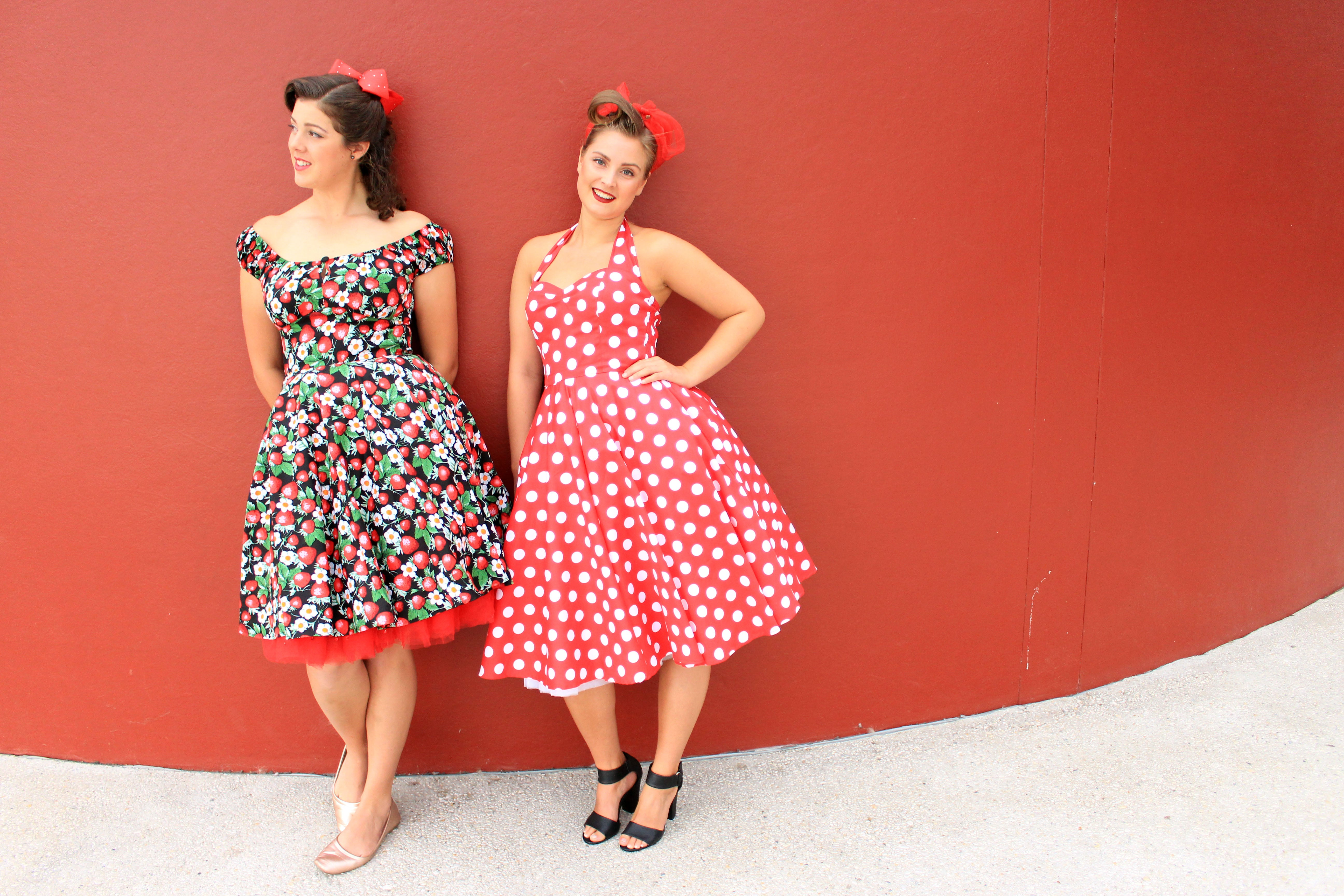 Mid-Dress | Strawberry Sundae | M