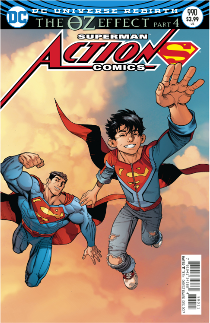 Action Comics | 990 | Comic | Lenticular Variant