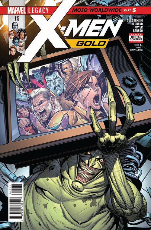 X-Men | Gold | 15 | Comic
