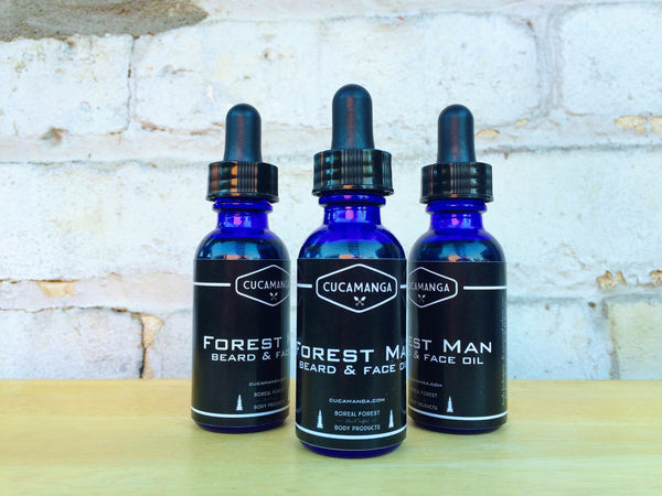 Forest Man: Beard & Face Oil