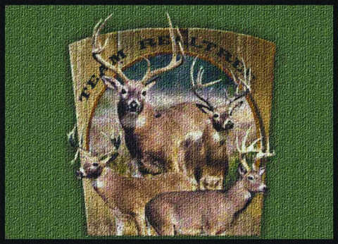Realtree Team Realtree Bucks VIII Rug