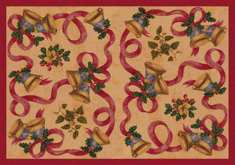 Holiday Bells & Bows Rug