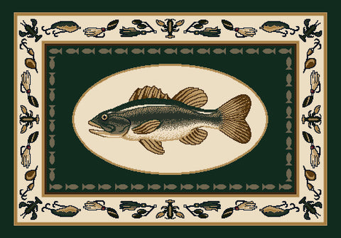 Seasonal Fishtales Rug