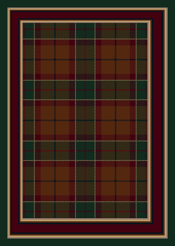 Milliken Design Center Magee Plaid Rug