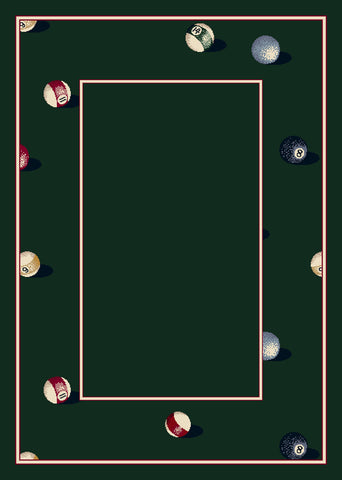 Milliken Design Center Billiards Rug