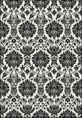 Black & White Manor Rug