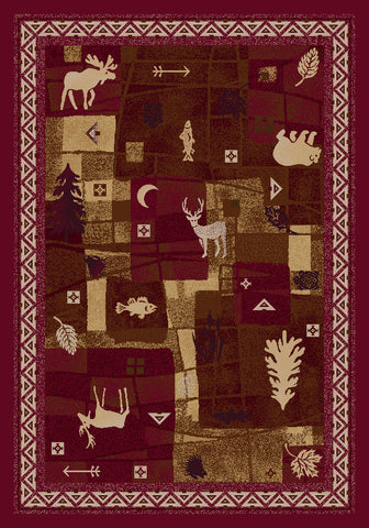 Signature Deer Trail Rug