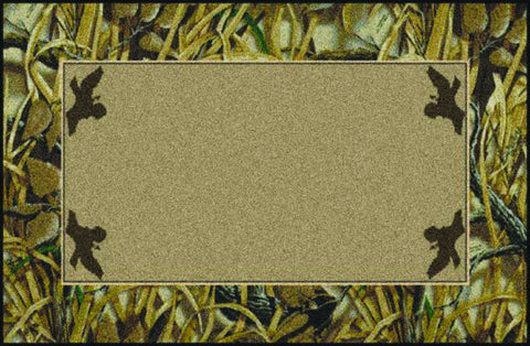 Realtree Wetlands Solid Center Rug